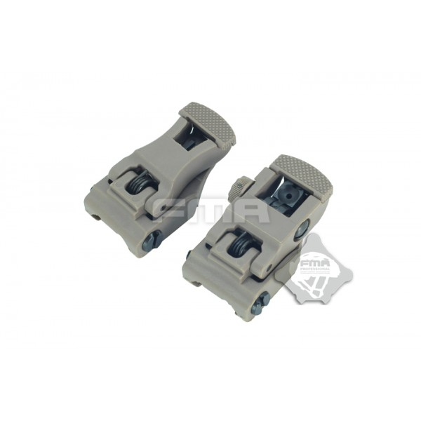 FMA Целики  71L F-R Folding Sight Set TAN