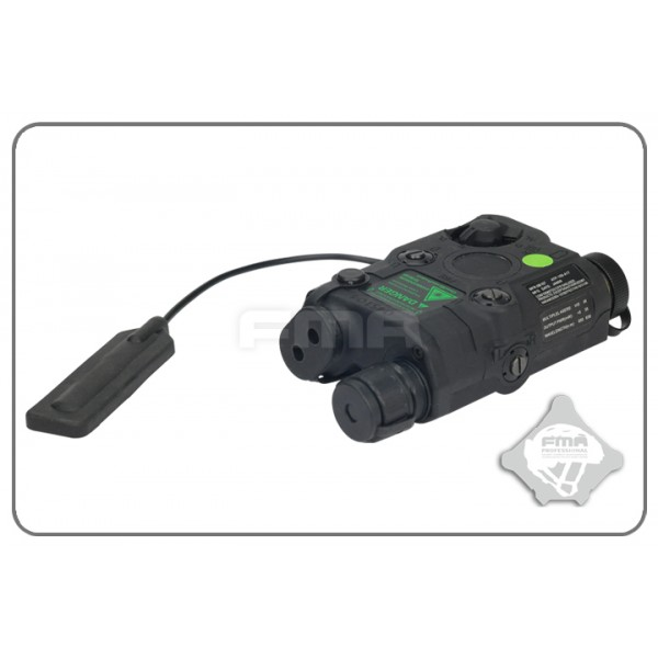 FMA Anpeq 15 Upgrade Version Led White light + Green laser with IR Lenses BLACK