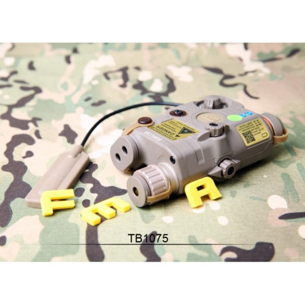 FMA anpeq LA5-C Upgrade Version  LED White light + Green laser with IR Lenses FDE