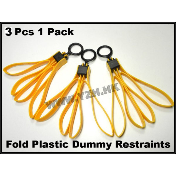 EMERSON Fold Plastic Dummy Restraints