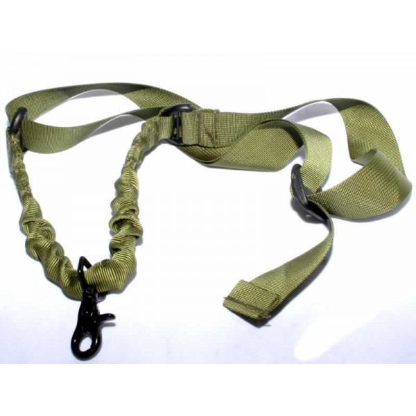 EMERSON Single point bungee sling OD GREEN