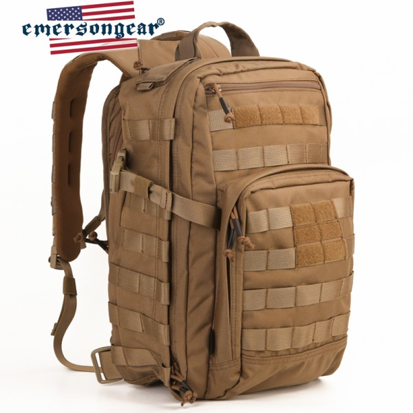 EMERSON Рюкзак 21 litre City Slim Backpack COYOTE BROWN