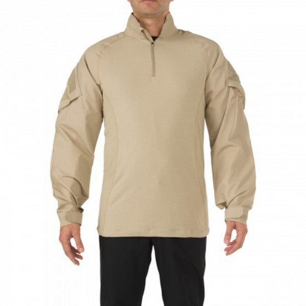 5.11 Боевая рубаха Rapid Assault Shirt KHAKI M