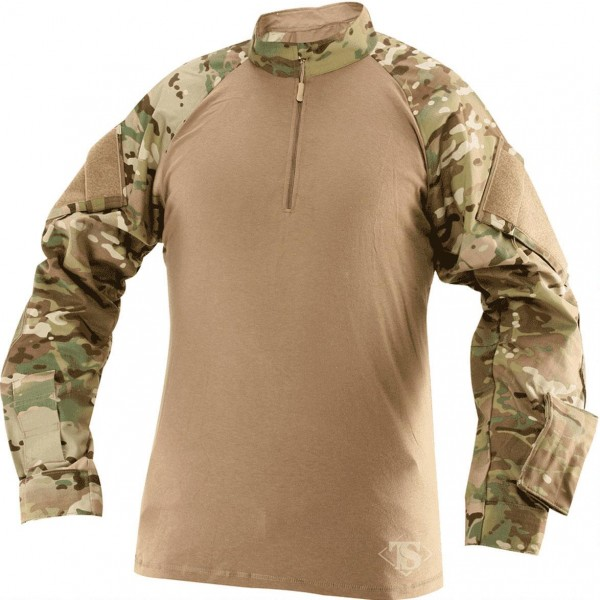 TRU SPEC Боевая рубаха TRU Long Sleeve 1/4 Zip Combat MULTICAM XL