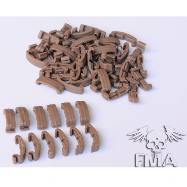 FMA Накладки на рис Larue IndexClips  60 Piece Set TAN