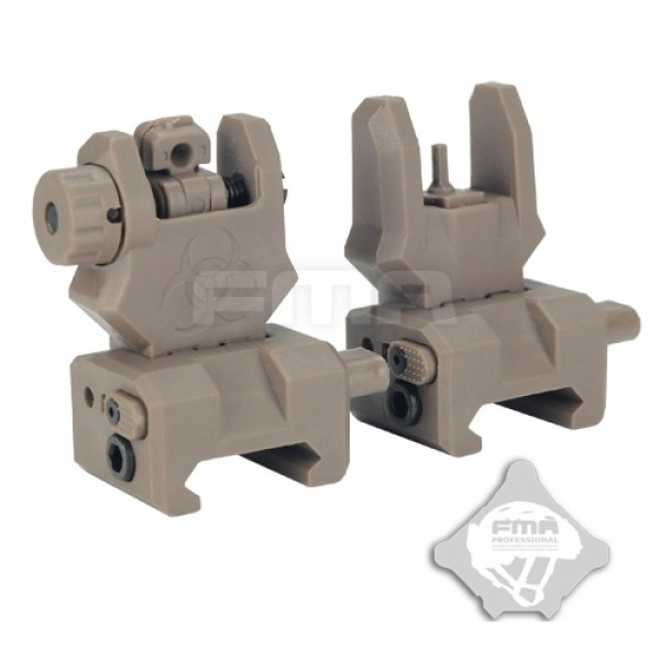 FMA Целики  Front and back sight GEN 3 FDE
