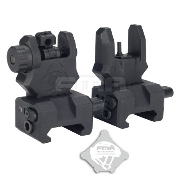 FMA Целики  Front and back sight GEN 3 BLACK