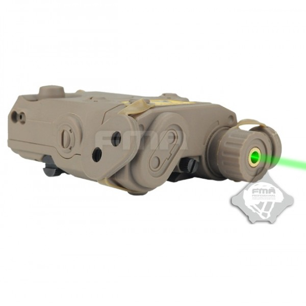 FMA Целеуказатель Anpeq 15  Battery Case + green laser FDE