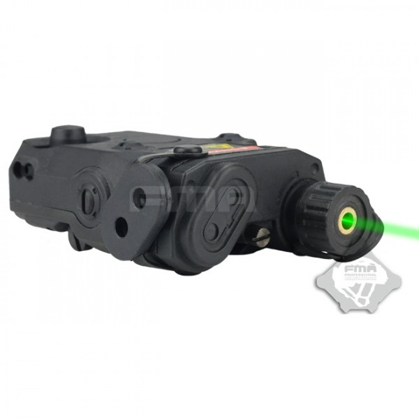 FMA Целеуказатель Anpeq 15  Battery Case + green laser BLACK