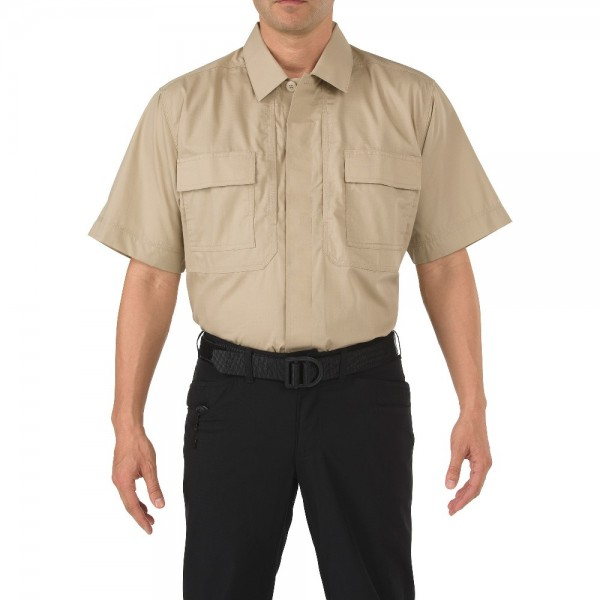 5.11 Рубашка Taclite TDU Short Sleeve Shirt KHAKI MD