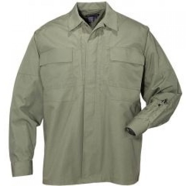 5.11 Китель Taclite TDU Long Sleeve Shirt OD GREEN L